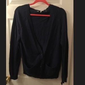 BDG Urban Outfitters Navy Blue Cardigan (RIP)